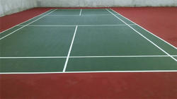 Badminton Court Flooring Service