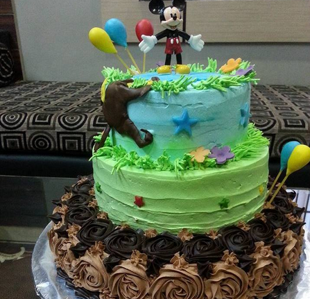 Tiered Cake For Kids
