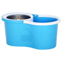 Stainless Steel 360 Rolling Magic Floor Spin Mop & Bucket