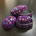Lac Traditional Indian Jewelry Box Love Heart Shape Trinket Boxes