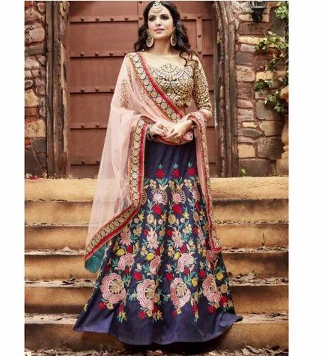 c89ff32e58b1b Designer Lehenga Choli - Wedding Designer Lehenga Choli Wholesale ...