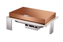Grand Hydraulic Rose Gold 1/1 Chafer With Unique Stand