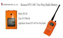 Battery Samsung Spl-80 Stv-160 9v1300mah