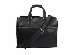 Leather lap top bag