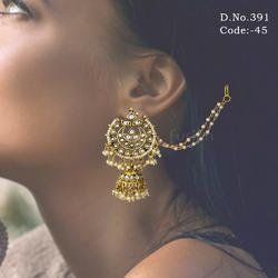 Ethnic Kundan Earrings