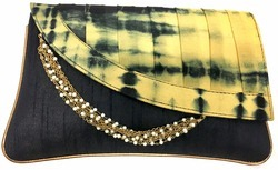 Tie And Dye Clutch