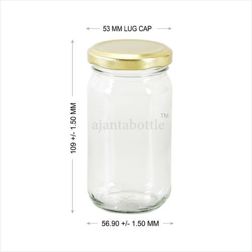 60bb0dd7d8 Pickle and Ghee Glass Container - 200 Gm Pickle Jar Wholesale Trader from  New Delhi