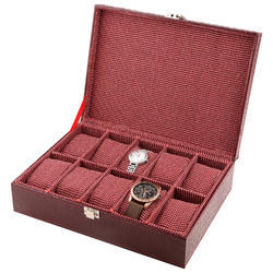 10  Red Wine Watch Box