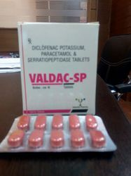 Diclo 50mg Para 325mg Serratio 10mg Tablets
