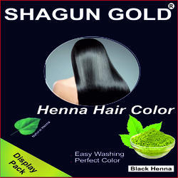 Shining Henna Hair Color Black