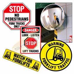 Pedestrian Forklift Safety Kit Signs