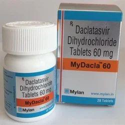 Mydacla 60 Mg Tablets Daclastavir