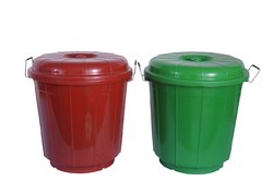 Red, blue And Green Plastic Drum 25 Ltrs, Capacity: 25 Ltr
