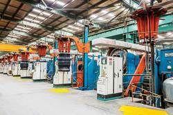 Automotive Plant Machinery Shifting