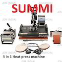 5 in 1 Heat Transfer Machine