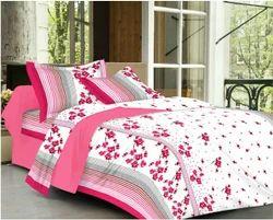 Always Plus Double Floral Pure Cotton Bed Sheet