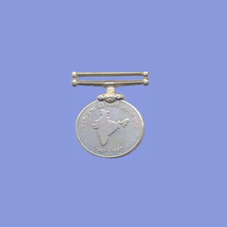 Silver Round Medal