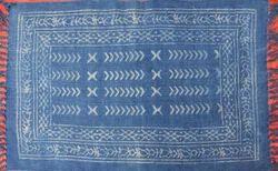 Indigo Block Printed Rugs