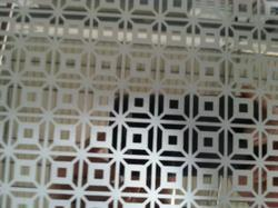 Etched Designed Stainless Steel Sheets