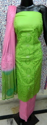 Aaditri Aari Work Suit With Latest Work