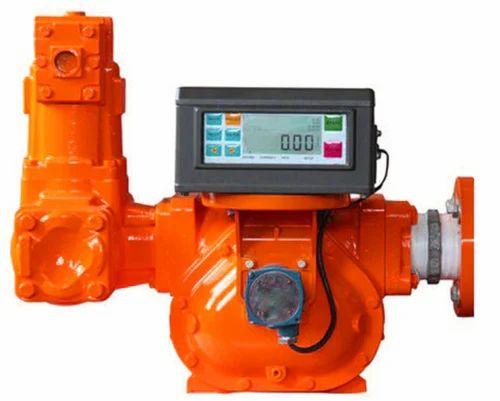 Positive Displacement Flow Meter With Digital Display
