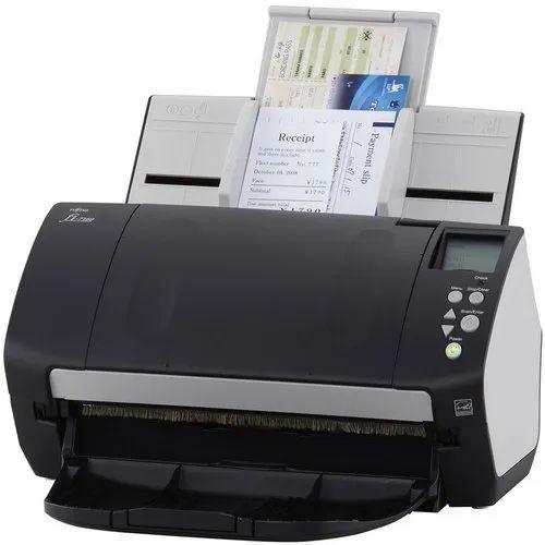 Fujitsu fi fi-6130Z Document Scanner  both trays ac adapter usb.