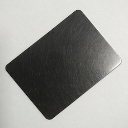 Stainless Steel Black Hairline Sheets