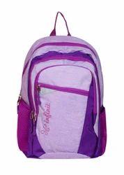 Infinit Purple Color Backpack Lightweight Bag