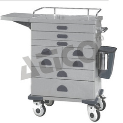 S.S. Anesthesia Trolley