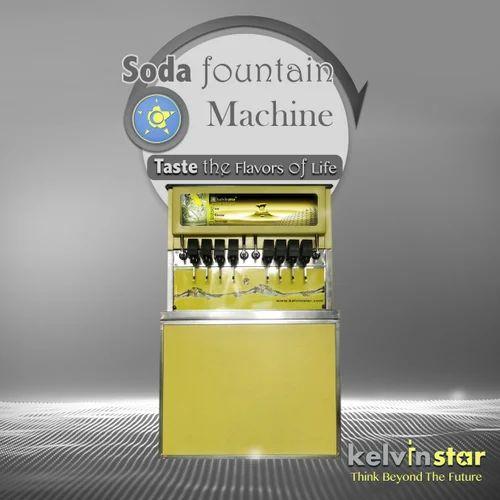 Semi Automatic Soda Fountain Machine