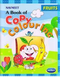 Copy Colouring Fruits Book