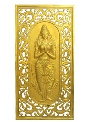 Lady Design In Golden Shade -Back Drop Panel