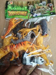 Plastic Wild Animal (Set of 10 )