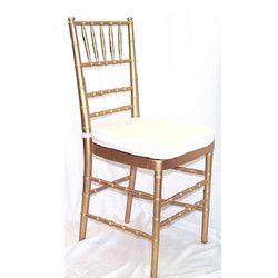 Golden High Back Banquet Chair
