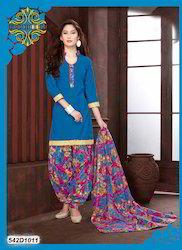 Cotton Printed Salwar Suit