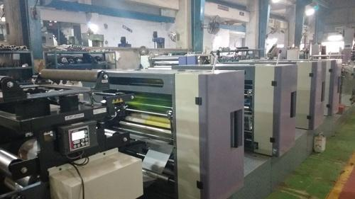 Nonwoven Printing Machine (Non Woven 4 Color Offset)