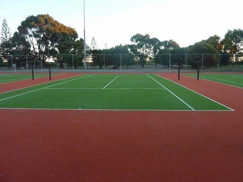 Outdoor Tennis Court Flooring