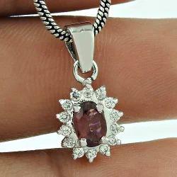 Glittering Fashion Design 925 Sterling Silver Pendant