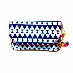 Ikat Clutch Bag