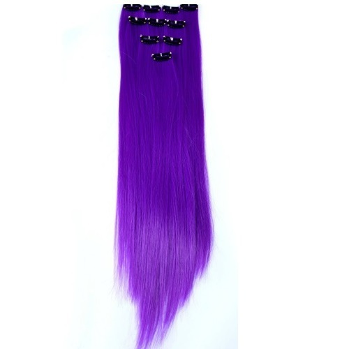 Hair extension silky clip extensions manufacturer from gurgaon purple clip hair extensions pmusecretfo Images