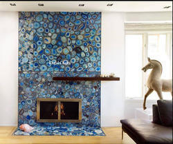 Blue Agate Fire Panel