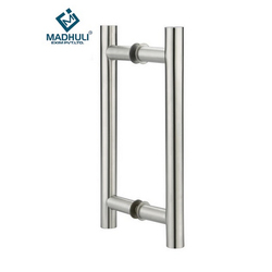 Glass Door Stainless Steel Pull Handle  sc 1 st  Madhuli Exim Private Limited & Glass Door Pull Handle - Glass Door Stainless Steel Pull Handle ...