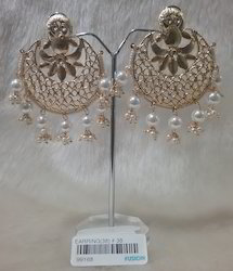 Designer Ethnic Chandbali Earrings
