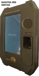 Mantra Iris Aadhaar Biometric Attendance Machine MISTAB Warranty 1 Year