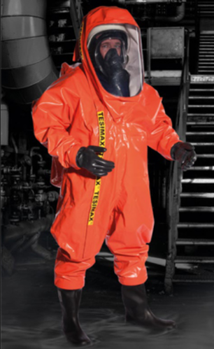 33024ac24bf6 Chemical Protection Clothing - Chemical Protection Gas Tight Suits  Manufacturer from Noida