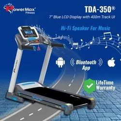 Powermax TDA-350 Motorised Treadmill with 400m Track UI