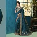 Wedding Georgette Work Saree
