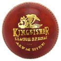 BDM Kingfisher League Special Red Leather Ball