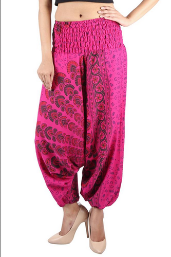 157ef2d20c Women Afghani Trouser - Poly Crepe Mandala Afghani Trouser Party ...