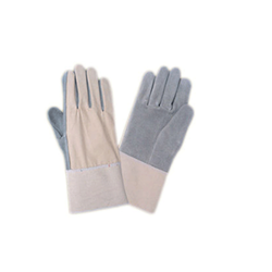 Chrome Canvas Leather Hand Gloves